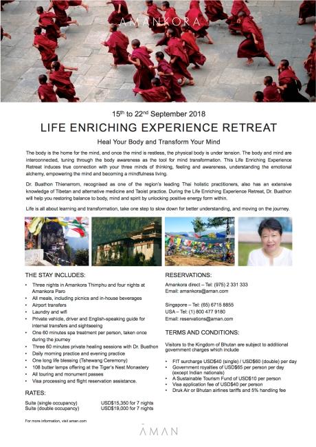 Amankora_Life Enriching Experience Retreat (15th - 22nd September 2018) copy