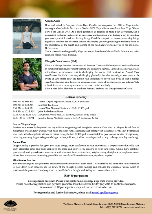 2 Urban Mindfulness Retreat - July 2018 copy 2