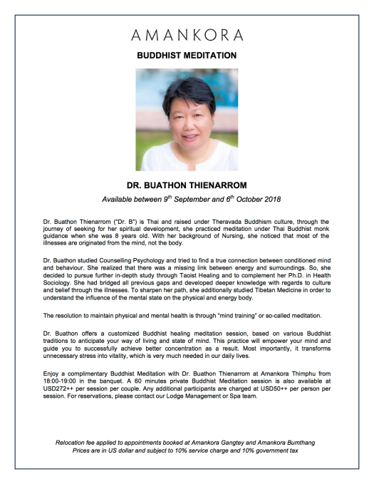 Dr Buathon Thienarrom_Specialist_Buddhist Meditation Flyer 17092018