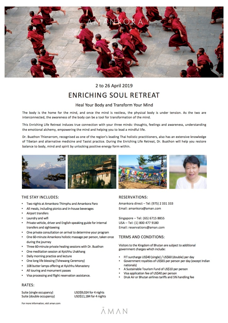 amankora_enriching soul retreat (2nd - 26th april 2019)